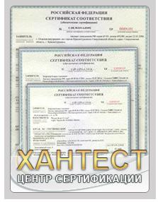 Сертификат Евро 4 с Хантест